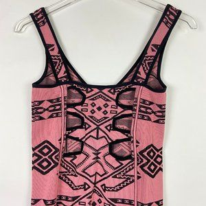 Free People Dresses - Free People Intimately Intarsia Bodycon Dress M/L